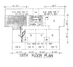 好利商业大厦 -标准平面图