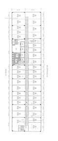 百利商业中心 -标准平面图
