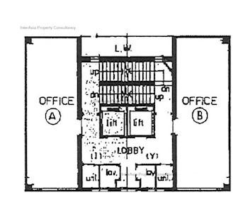 喜利商业大厦 -标准平面图