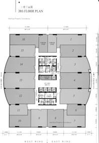 半岛广场 -标准平面图