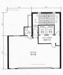 堪富利广场 -标准平面图