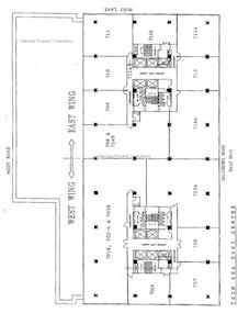 尖沙咀中心 -标准平面图
