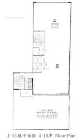 华杰商业中心 -标准平面图