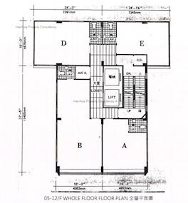得利商业大厦 -标准平面图