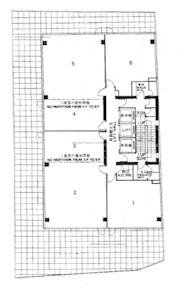 华秦国际大厦 -标准平面图