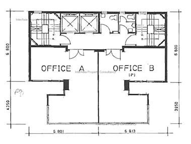 永宜商业大厦 -标准平面图