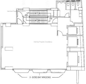 中达大厦 -标准平面图