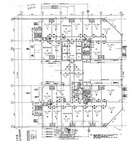美罗中心1期 -标准平面图