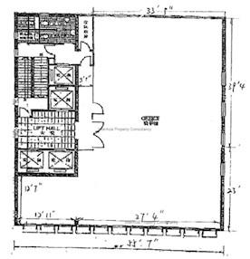 大众银行中心 -标准平面图
