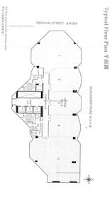 信和广场 -标准平面图