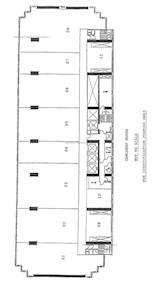 夏悫大厦 -标准平面图