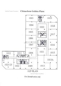 华懋广场 -标准平面图