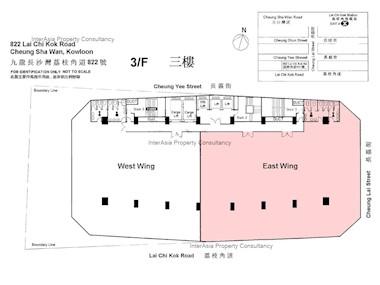 荔枝角道822号 -标准平面图