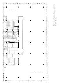 南丰大厦 -标准平面图