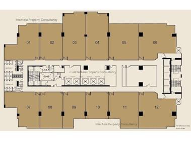 振万广场 -标准平面图