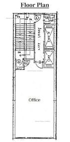 亚洲大厦 -标准平面图