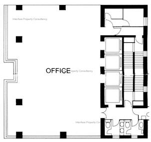珠江船务大厦 -标准平面图