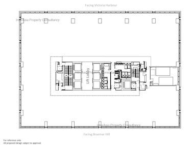 K11 Atelier King's Road -标准平面图