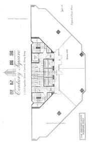 世纪广场 -标准平面图