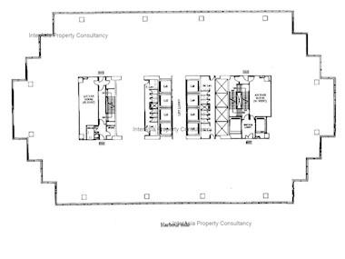 太古广场1座 -标准平面图