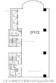 荆威广场 -标准平面图