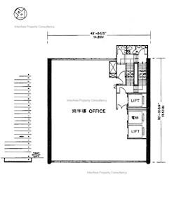 冯氏大厦 -标准平面图