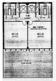 恒泽商业中心 -标准平面图