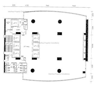衡怡大厦 -标准平面图