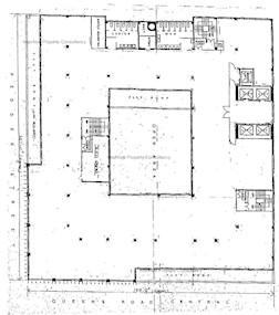 中建大厦 -标准平面图