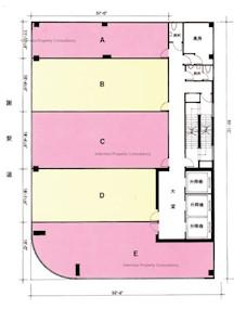 群策大厦 -标准平面图