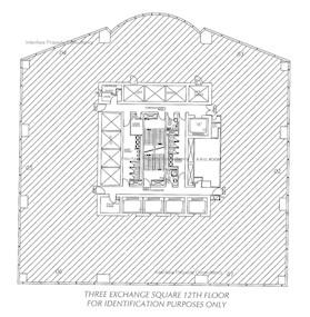 交易广场3座 -标准平面图