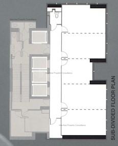 大业大厦 -标准平面图