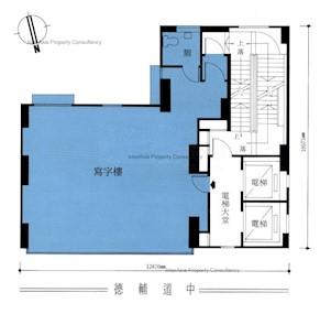 岑氏商业大厦 -标准平面图