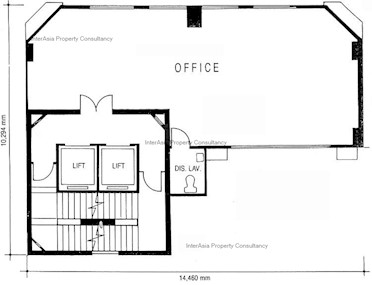 宜兴大厦 -标准平面图