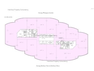 海滨广场二座 -标准平面图