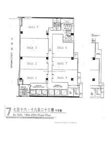 富利广场 -标准平面图