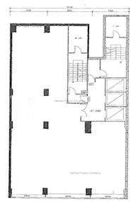 安乐园大厦 -标准平面图