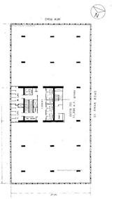 爱群商业大厦 -标准平面图