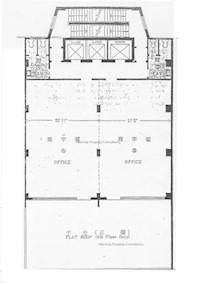 海港商业大厦 -标准平面图