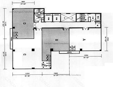 伟基大厦 -标准平面图