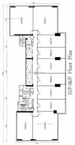 皇廷广场 -标准平面图