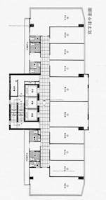 宝时商业中心 -标准平面图