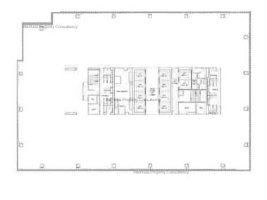 遮打大厦 -标准平面图