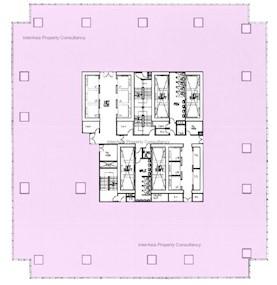 宏天广场 -标准平面图