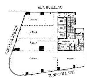 南和行大厦 -标准平面图