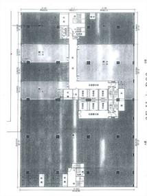 中美中心B座 -标准平面图