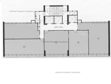 金联商业中心 -标准平面图