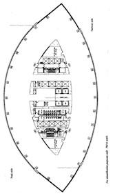 太古广场2座 -标准平面图