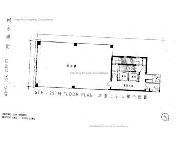 昌生商业大厦 -标准平面图