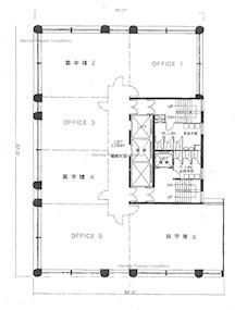 嘉宝商业大厦 -标准平面图